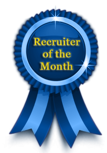 Recruiter of The Month
